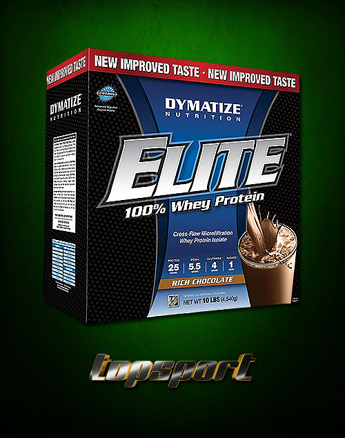 ELITE WHEY 4,5KG DYMATIZE NUTRITION..