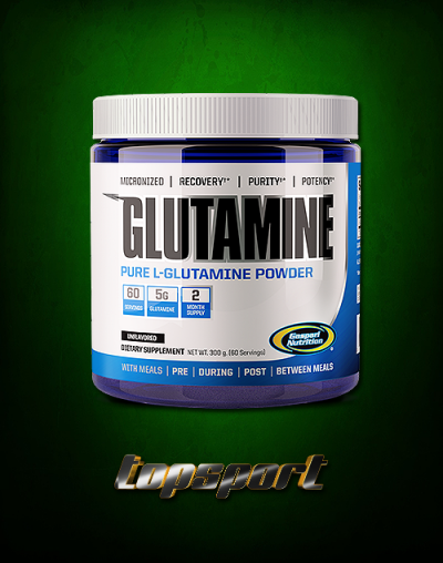 GLUTAMINE POWDER 300 G GASPARI NUTRITION.