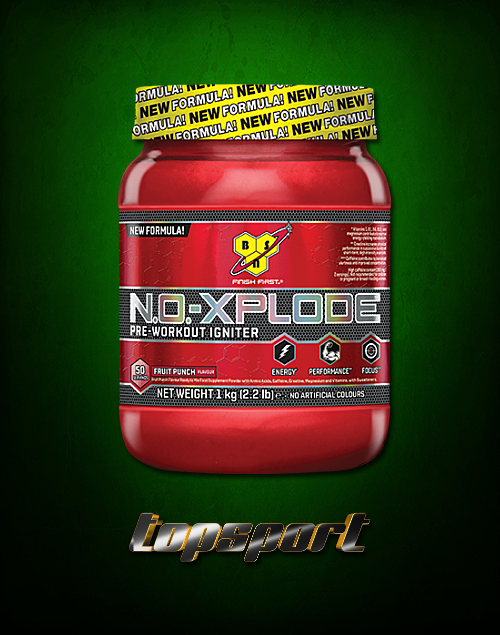 NO XPLODE NEW FORMULA 50 SERVINGS BSN