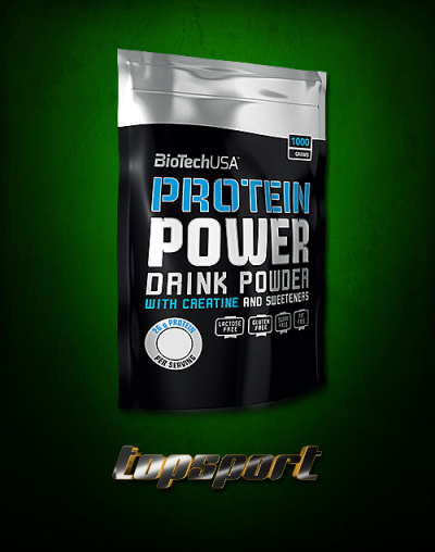 PROTEIN POWER 1KG BAG BIOTECH USA ...