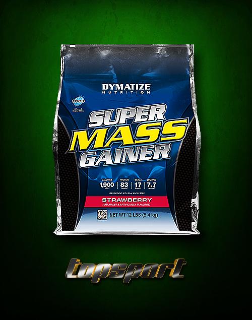 SUPER MASS GAINER 5,45 KG DYMATIZE NUTRITION.