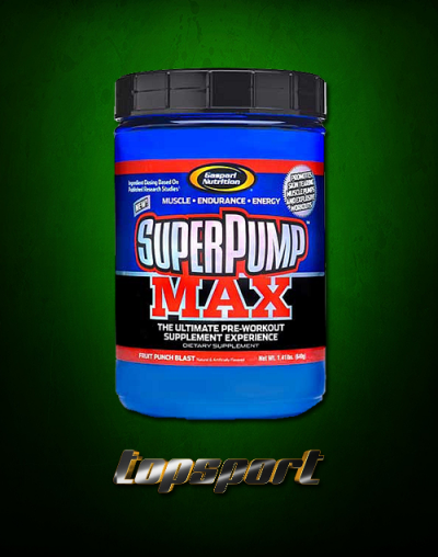 SUPER PUMP MAX GASPARI NUTRITION.