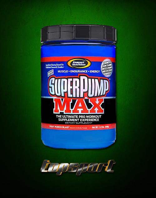 SUPER PUMP MAX GASPARI NUTRITION.