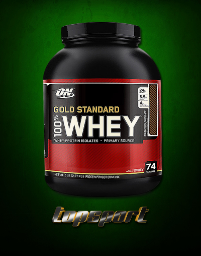 WHEY GOLD STANDARD OPTIMUM NUTRITION.