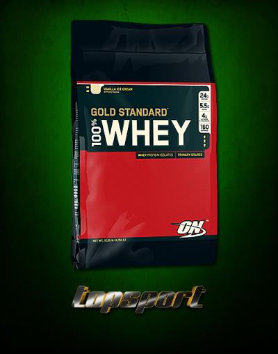 100% WHEY GOLD STANDARD 4,54 Kg OPTIMUM.