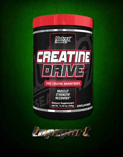 CREATINE DRIVE 300G NUTREX RESEARCH.