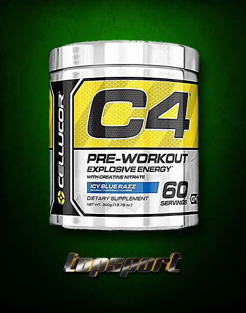 C4 NEW FORMULA G4 60 SERVINGS CELLUCOR.