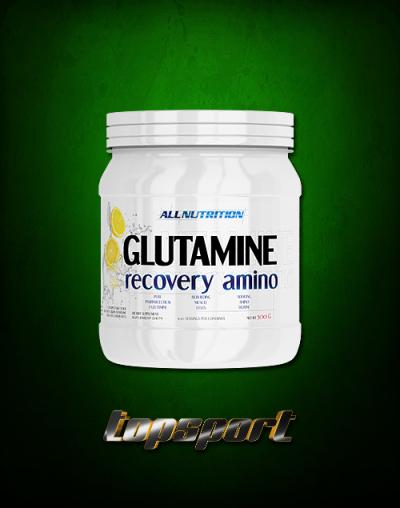 GLUTAMINE RECOVERY AMINO 500 G ALLNUTRITION