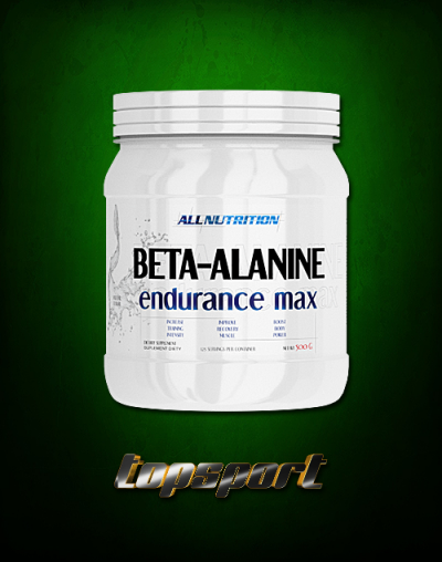 BETA ALANINE ENDURANCE MAX 500G ALL NUTRITION.