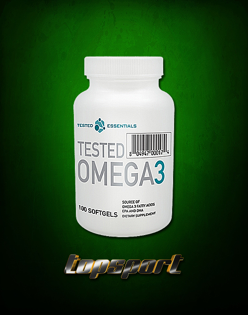 OMEGA 3 100 SOFTGELS TESTED.