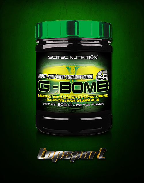 G-BOMB 300G SCITEC NUTRITION.