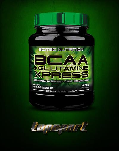 - BCAA + GLUTAMINE XPRESS 600G SCITEC NUTRITION ...