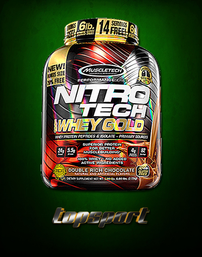 MUSCLETECH NITRO TECH WHEY GOLD ...