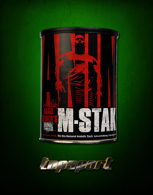 ANIMAL M STAK UNIVERSAL NUTRITION.