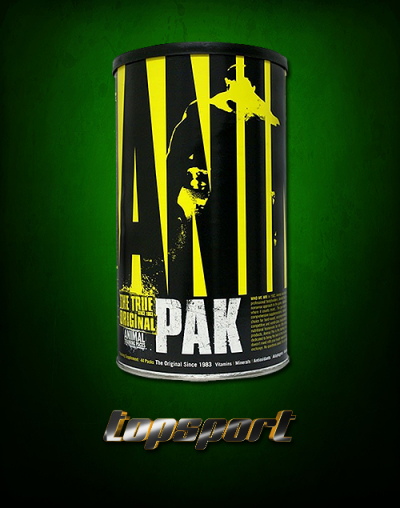 ANIMAL PAK UNIVERSAL NUTRITION.