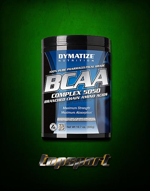 BCAA COMPLEX 5050 300 G DYMATIZE NUTRITION.