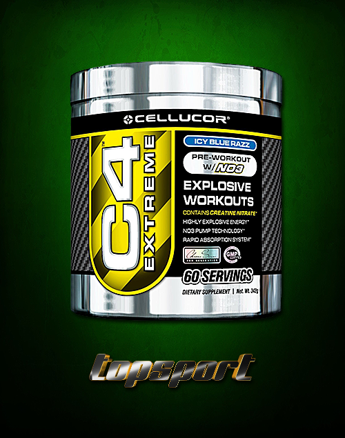 C4 EXTREME 60 SERVINGS CELLUCOR.