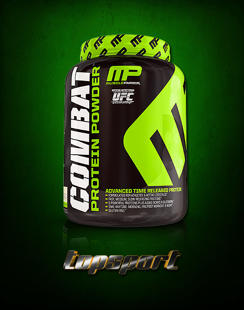 COMBAT PROTEIN MUSCLEPHARM.