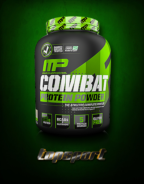 COMBAT PROTEIN POWDER 1,8KG MUSCLEPHARM.