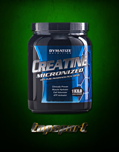 CREATINE MICRONIZED 1 KG DYMATIZE NUTRITION.