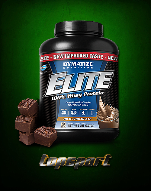 ELITE WHEY 2,3 KG DYMATIZE NUTRITION.