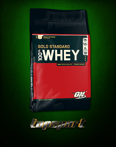 100% WHEY GOLD STANDARD 4,54 Kg OPTIMUM.