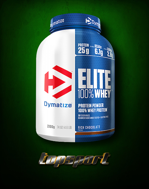 ELITE WHEY 2,1KG DYMATIZE NUTRITION.