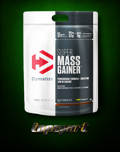SUPER MASS GAINER 5,232KG DYMATIZE NUTRITION.