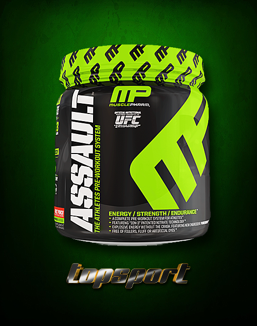 ASSAULT 435 g 30 DOZA MUSCLEPHARM.