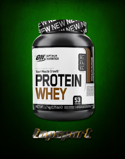 WHEY PROTEIN 1,7KG OPTIMUM NUTRITION